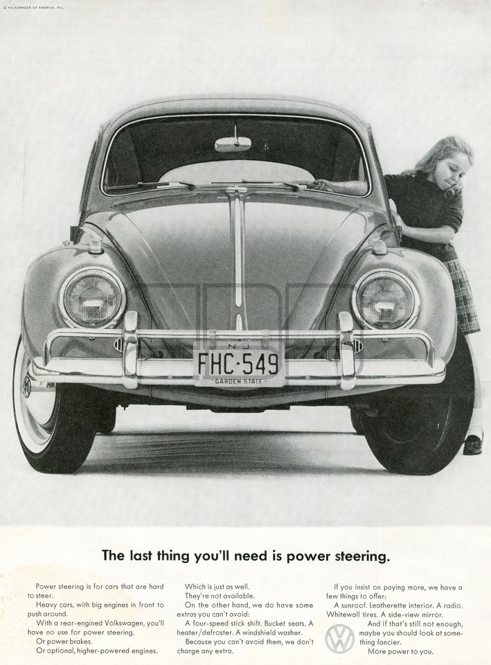 VOLKSWAGEN THE LAST THING 1963