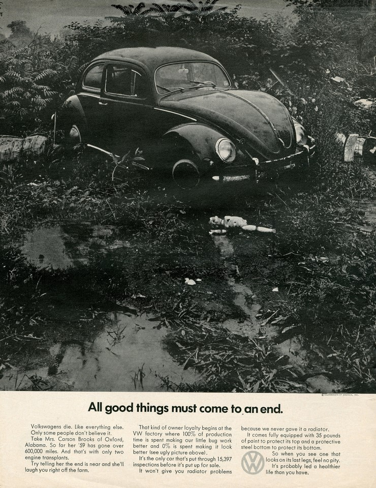 VOLKSWAGEN ALL GOOD THINGS 1968