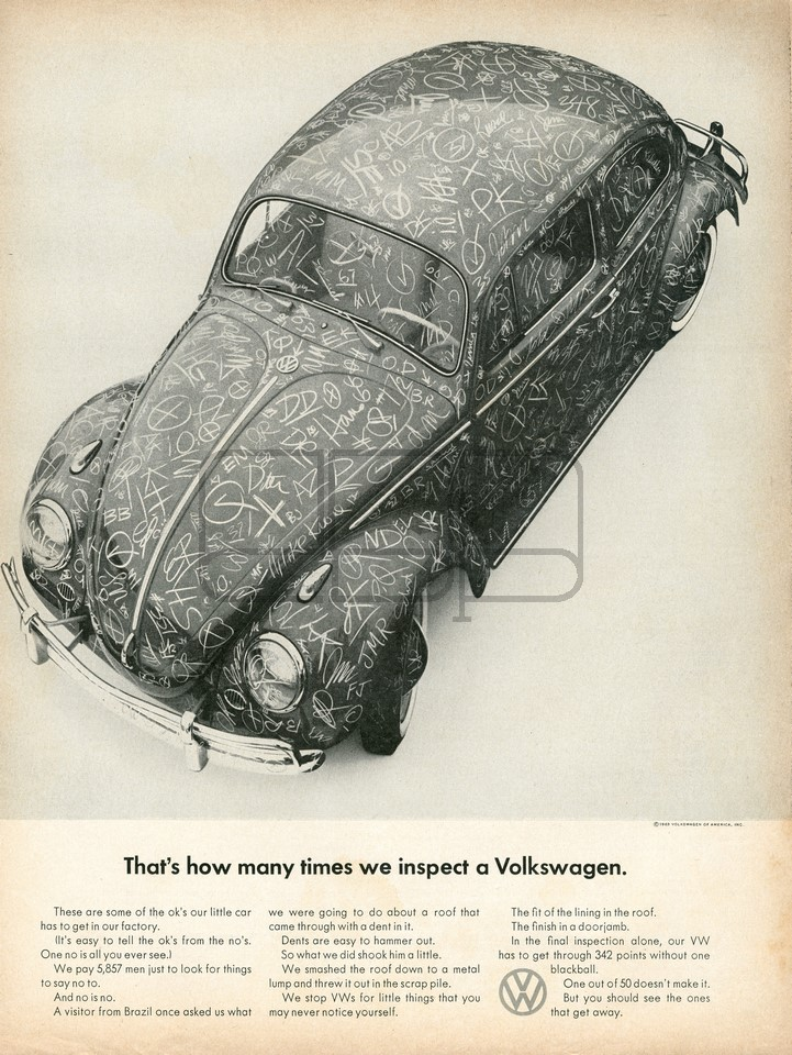 VOLKSWAGEN MANY TIMES 1963