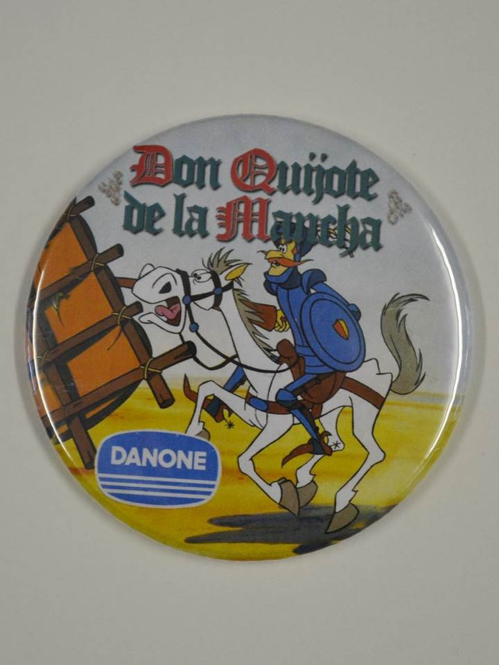 IMÁN 75MM DANONE DON QUIJOTE