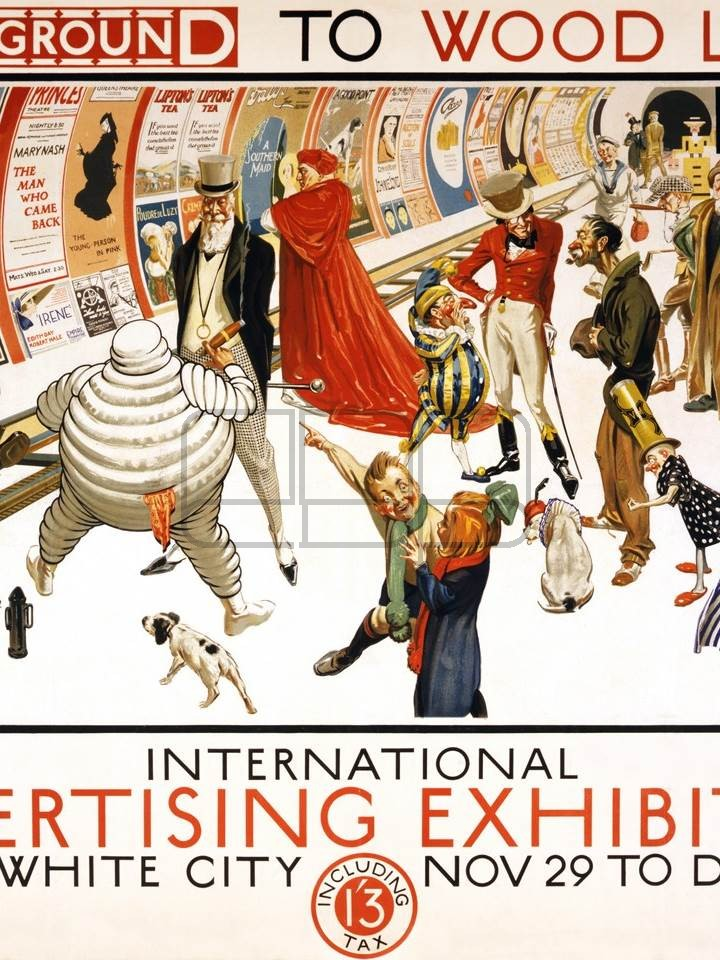 LÁMINA INTERNATIONAL ADVERTISING EXHIBITION 1920