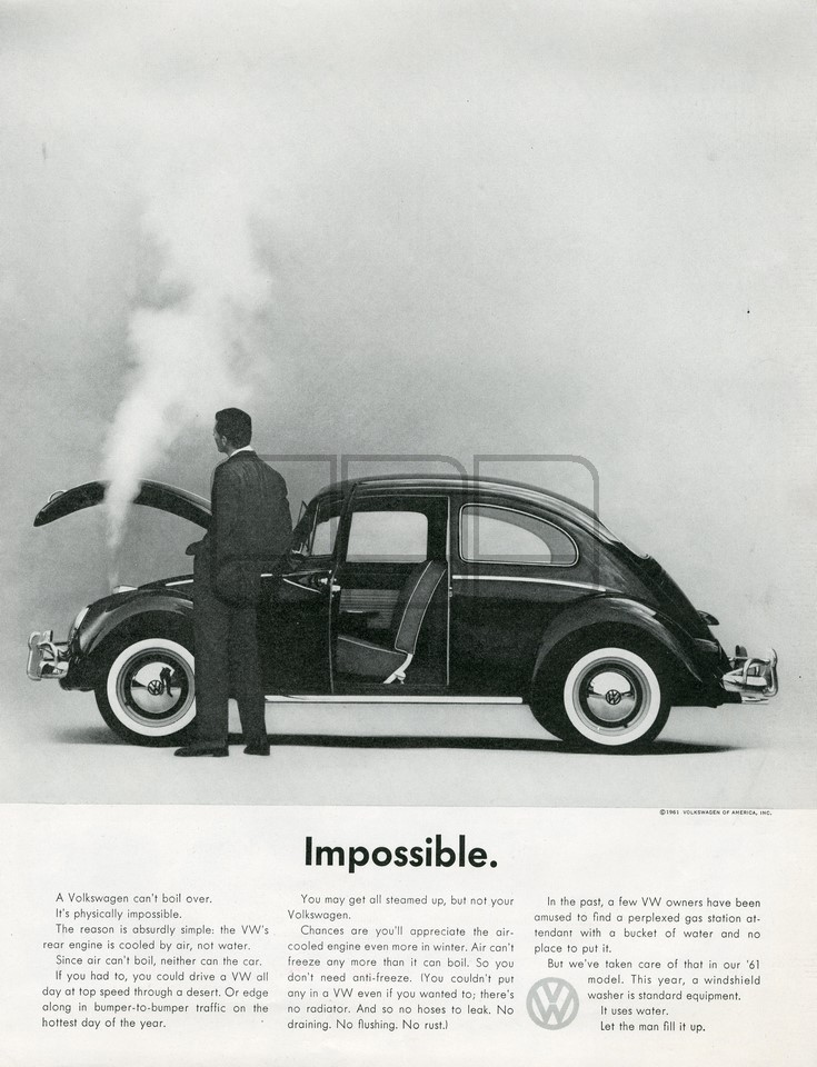 VOLKSWAGEN IMPOSSIBLE 1961